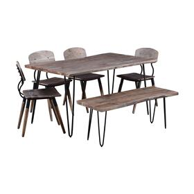 "Nature's Edge 60"" Dining Table W/(4) Chairs"
