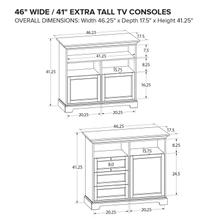 XT46C Extra Tall Custom TV Console