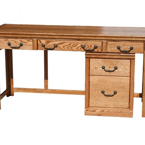 "A-T372 Traditional Alder 60"" Laptop Desk"