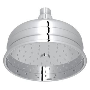 "Polished Chrome 6"" Bordano Rain Anti-Calcium Showerhead Product Image"