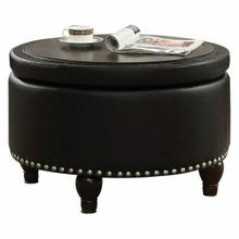 ACME Noely Cocktail Table w/Storage - 80425 - Ebony PU