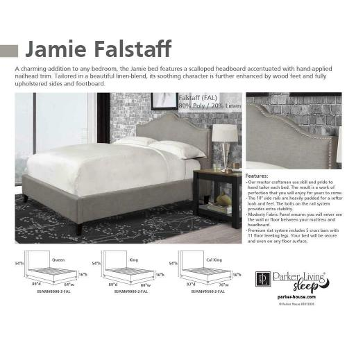 JAMIE - FALSTAFF King Headboard 6/6 (Grey)