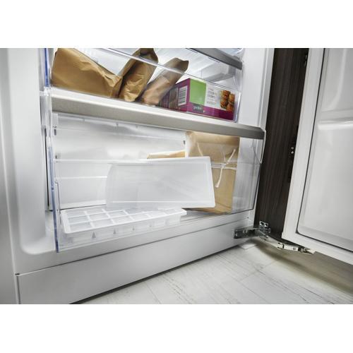 "KitchenAid - 10 Cu. Ft. 24"" Width Built-In Panel Ready Bottom Mount Refrigerator Panel Ready"