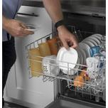 GE ®Front Control with Plastic Interior Dishwasher with Sanitize Cycle & Dry Boost
