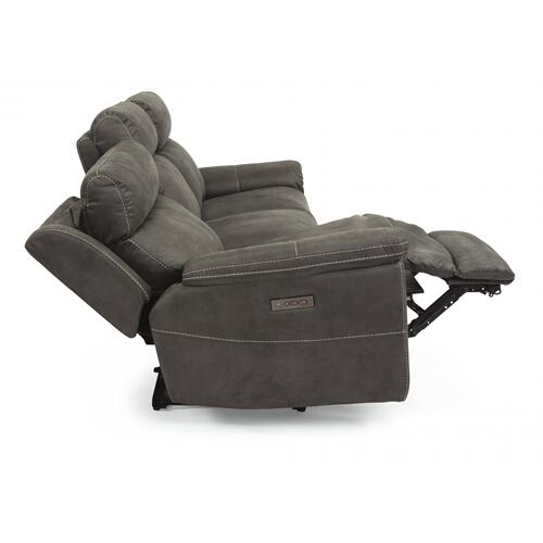 Rhett Power Reclining Sofa with Power Headrests