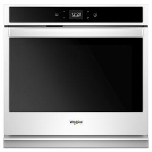 4.3 cu. ft. Smart Single Wall Oven with Touchscreen - WHITE