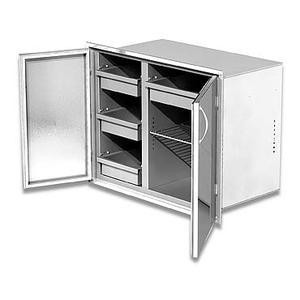 """Low body, 30"""" width Dry Storage Pantry"""