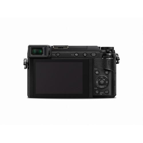 LUMIX GX85 4K Mirrorless Interchangeable Lens Camera Kit, 12-32mm Lens, 16 Megapixels, Dual Image Stabilization, Electronic Viewfinder, WiFi - Black