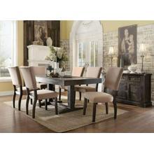 ACME Eliana Dining Table - 71710 - Salvage Dark Oak