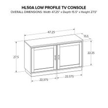 Howard Miller Custom Wide TV Consoles HL50A