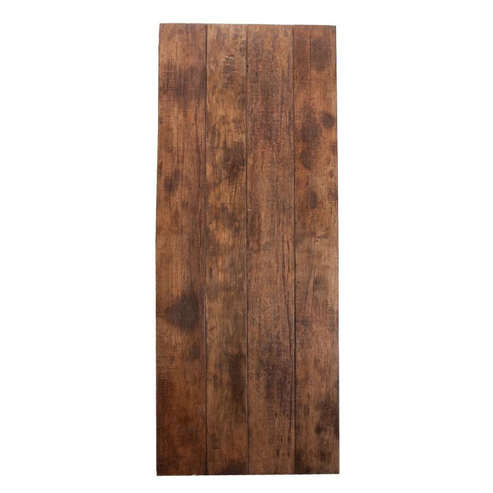 """See Details - Barnwood Table Top 120"""" Natural"""