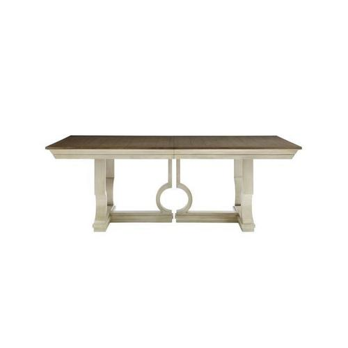 Latitude Pedestal Dining Table - Oyster