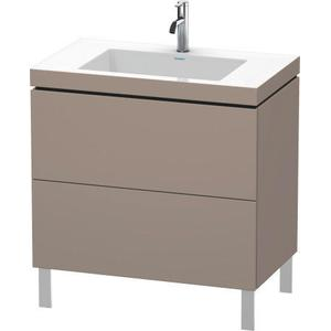 Furniture Washbasin C-bonded With Vanity Floorstanding, Basalt Matte (decor)