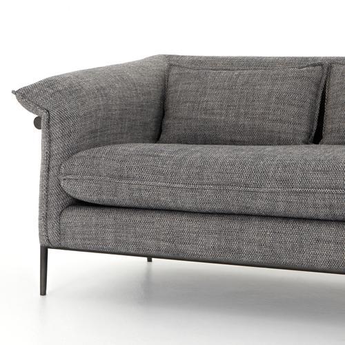 """Roz Sofa-91""""-barron Smoke"""