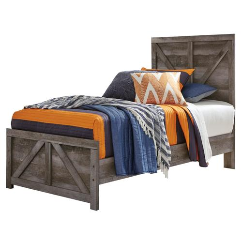 Wynnlow - Gray 2 Piece Bed Set (Twin)