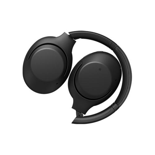 Gallery - Wireless Over-ear Noise Canceling EXTRA BASS™ Headphones with Microphone - Black