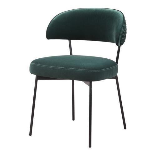 Dolce Dining Chair Green Velvet-m2