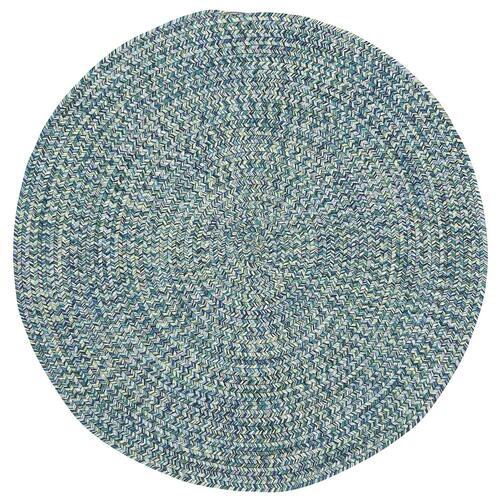 "Sea Glass Ocean Blue - Oval - 20"" x 30"""
