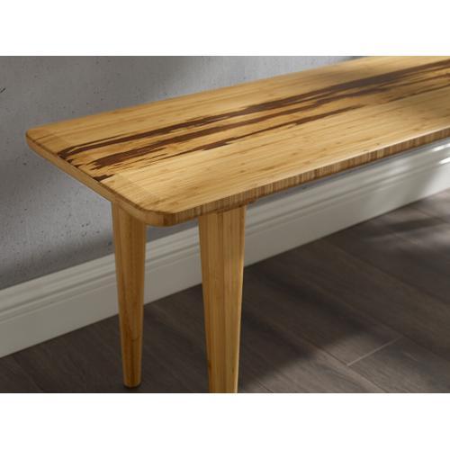 Greenington Fine Bamboo Furniture - Azara Bench, Caramelized