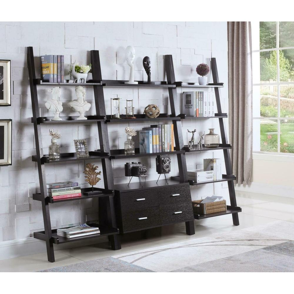 3 PC Ladder Bookcase Set