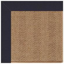 "View Product - Islamorada-Herringbone Canvas Navy - Rectangle - 24"" x 36"""
