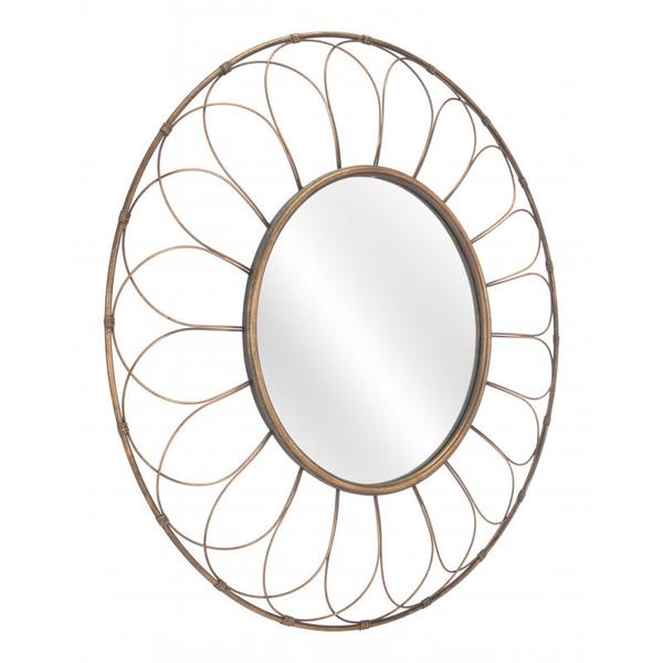 Alida Mirror Gold
