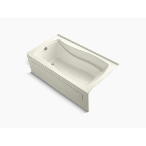 """Biscuit 66"""" X 36"""" Alcove Bath With Integral Apron and Left-hand Drain"""