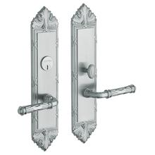 Satin Chrome Fenwick Escutcheon Entrance Set