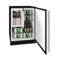 """View Product - 24"""" Refrigerator/freezer With Stainless Solid Finish (115 V/60 Hz Volts /60 Hz Hz)"""
