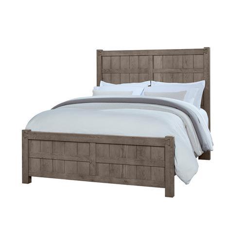 Vaughan-Bassett - King Board & Batten Bed