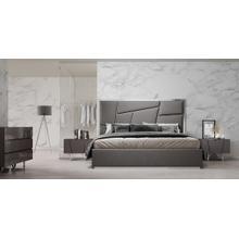 See Details - Modrest Chrysler Modern Grey Bedroom Set