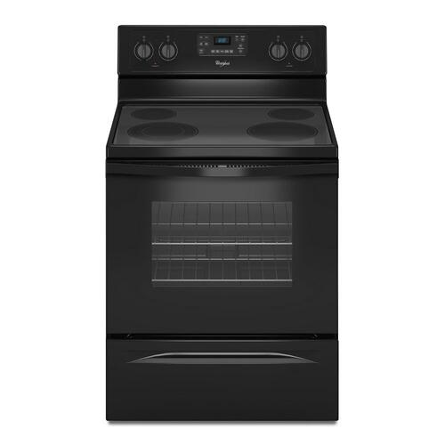 Gallery - 5.3 Cu. Ft. Freestanding Electric Range with Easy Wipe Ceramic Glass Cooktop
