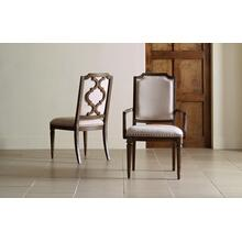 Refined Rustic by Rachael Ray Upholstered Splat Back Side Chair