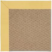 Creative Concepts-Raffia Canvas Canary Machine Tufted Rugs