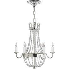 View Product - E F Chapman Paris Flea Market 6 Light 16 inch Polished Silver Chandelier Ceiling Light