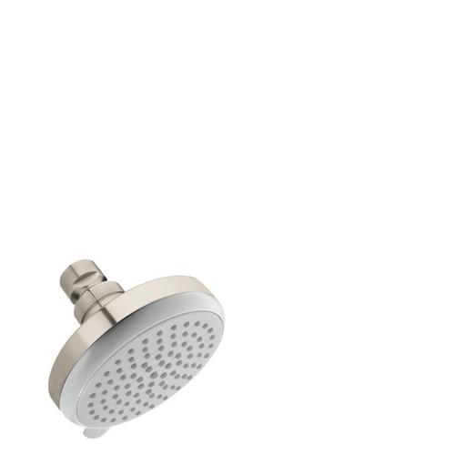 Brushed Nickel Showerhead E Vario-Jet, 2.0 GPM