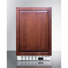 """See Details - 20"""" Wide Built-in All-refrigerator, ADA Compliant"""