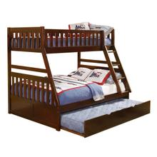 Twin/Full Bunk Bed with Twin Trundle
