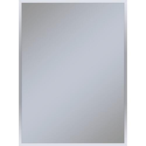 "Profiles 29-1/8"" X 39-1/4"" X 3/4"" Framed Mirror In Chrome"