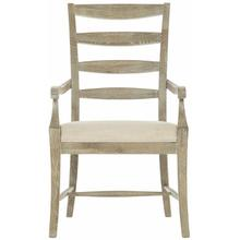 View Product - Rustic Patina Ladderback Arm Chair in Sand (387)