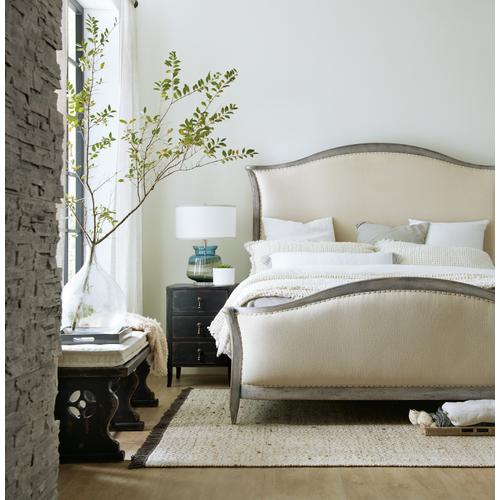 Hooker Furniture - Ciao Bella King Upholstered Bed- Speckled Gray