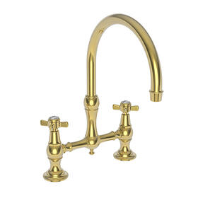 Polished Gold - PVD Kitchen Bridge Faucet