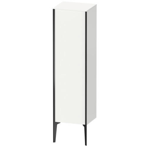 Semi-tall Cabinet Floorstanding, White Matte