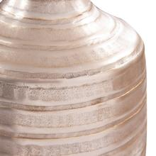 View Product - Chiseled Champagne Cylinder Vase, Small