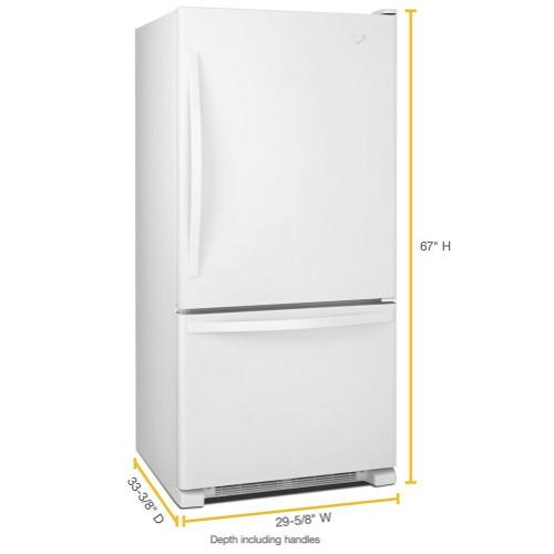 Gallery - 30-inches wide Bottom-Freezer Refrigerator with SpillGuard™ Glass Shelves - 18.7 cu. ft.