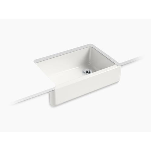 "Sea Salt 32-11/16"" X 21-9/16"" X 9-5/8"" Undermount Single-bowl Farmhouse Sink"