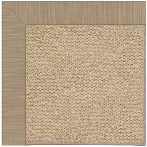 "Creative Concepts-Cane Wicker Dupione Sand - Rectangle - 24"" x 36"""