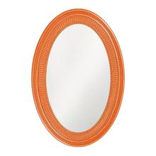 View Product - Ethan Mirror - Glossy Orange
