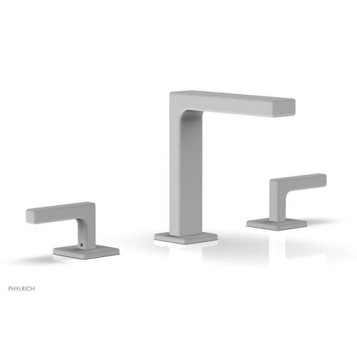 """MIX Widespread Faucet - Lever Handles 6-3/4"""" Height 290-02 - Satin White"""