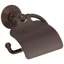 See Details - Oil Rubbed Bronze - Hand Relieved Hooded Toilet Tissue Holder